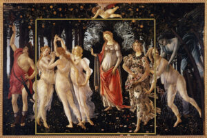 """PRIMAVERA "" Botticelli"